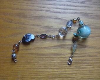 beaded bracelet, ecofriendly assemblage bracelet