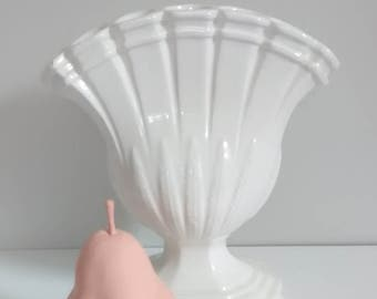 Antique Fan Bud Vase
