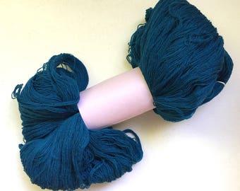 50% Off Superwash Merino Lace Yarn Newtons Yarn Co Blue  1125 Yards 4 Oz