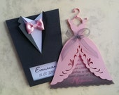 Wedding Invitations Suit and Dress for ra2fatme3meri