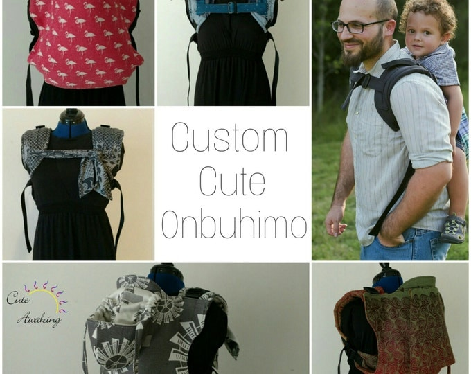 Featured listing image: Custom Cute Buckle Onbuhimo Deposit