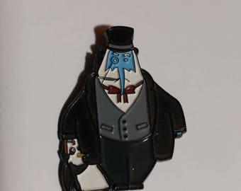Ice King Penguin Hat Pin