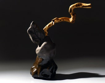 Hand made ceramic  sculpture,natural inspired,sensuous sculpture Memory  Of Africa............