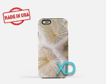 Dandelion iPhone Case, Flower iPhone Case, Dandelion iPhone 8 Case, iPhone 6s Case, iPhone 7 Case, Phone Case, iPhone X Case, SE Case