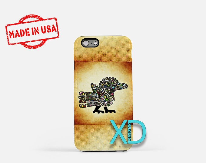 Aztec Bird iPhone Case, Colorful iPhone Case, Aztec Bird iPhone 8 Case, iPhone 6s Case, iPhone 7 Case, Phone Case, iPhone X Case, SE Case