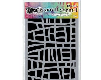 Ranger - Dyan Reaveley - Dylusions - Stencils - Stained Glass - Small