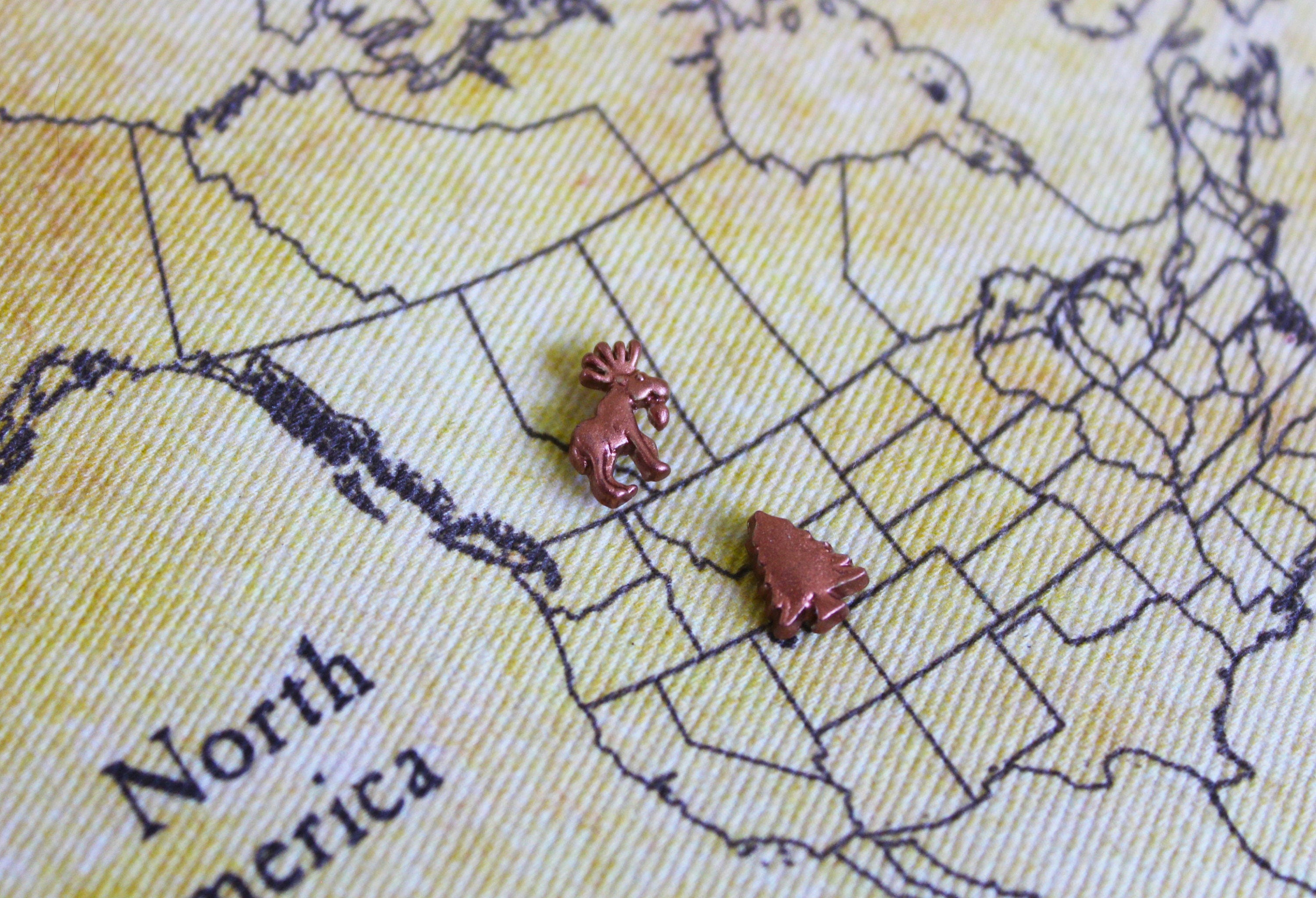 Scratch Map Etsy - Us national parks wall map