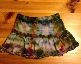 Stunning Upcycled Girl's Skirt, Size 7-8