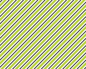 Riley Blake Fabric by the yard Pepe in Paris Lime C3795