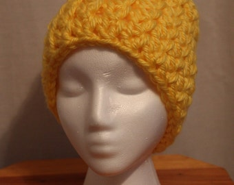 Crochet Chunky Hat Beanie - Made to Order
