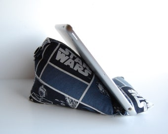Phone Holder Beanie for any smart phone and tablet Kindle iPhone Nook iPad Mini Star Wars