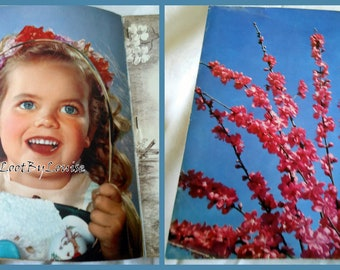 Easter Ideals Magazine April 1950 Flowers Springtime