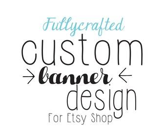 Cover Photo design, Shop Cover Banner, shop Banner Design, Branding Package, Shop Banner, Custom Banner Design, Shop profile image