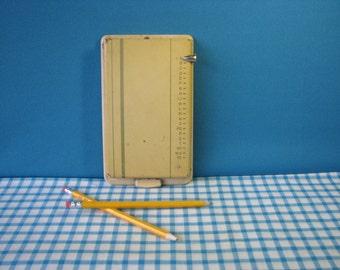 "Bates Pencilist Finder - Model ""E"" - Telephone Directory - Address Book - Vintage 1960's"