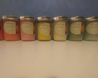 Assorted Scented Soy Jar Candles