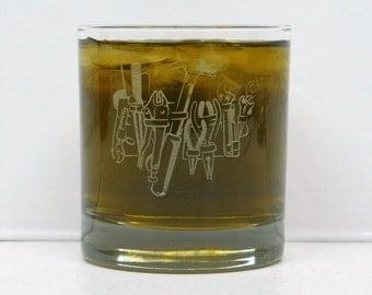Handyman, Handyman glass, Handyman Gift, Handyman Whiskey Glass, Construction Glass, Handyman Fathers Day Gift, Maintenance man gift