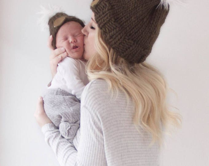 Featured listing image: Mama & Baby Beanie Bundle