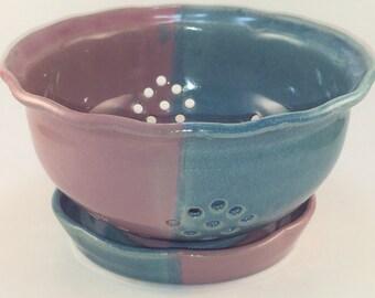 Berry bowl ,colander, Pasta strainer