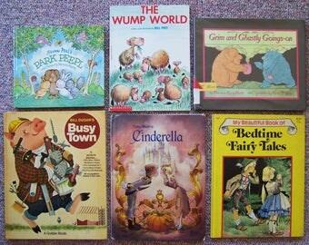 Lot of 12 Children's Books - Bill Peet, Dr. Seuss, Victoria Chess, Toby Bluth, Susan Perl, Dirk Zimmer, Mercer Mayer, Robert Kraus - Humor