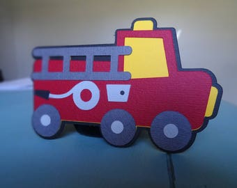 Set of 10 Firetrucks