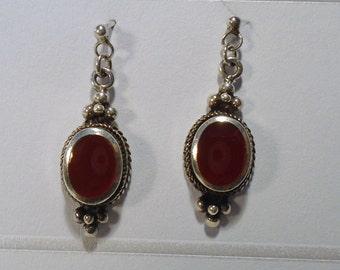 Earrings silver 925/pierced (237)