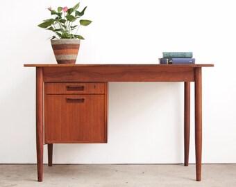 Arne Vodder Danish Teak Desk