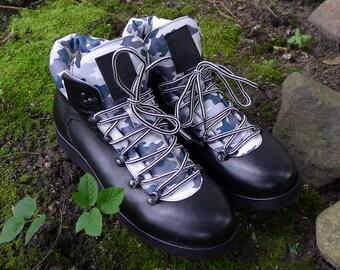 Men's shoes Hiker #1 Camo Black