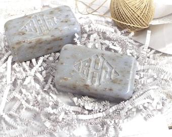 Monogrammed  Engraved Soap