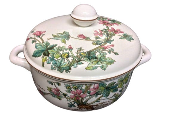 Villeroy & Boch Botanica 1.5 Qt Round Covered Vegetable Dish