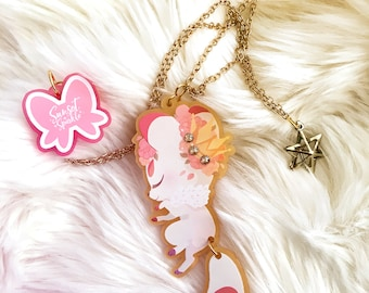 Kitsune Fox Star Necklace