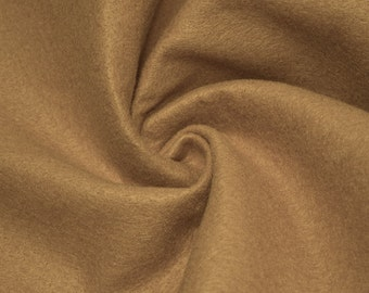 Lt Camel Acrylic Craft Felt Fabric By the Yard Style 3009