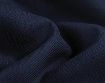 Navy Soild  60'' Poly Gabardine Fabric by the Yard - Style 3054