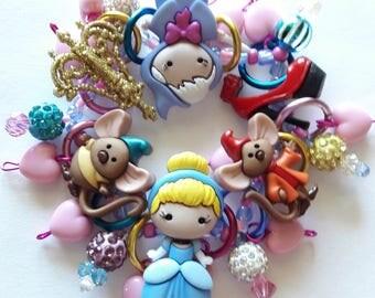 Cinderella bracelet/Disney/Beadiebracelet