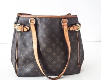 LOUIS VUITTON Louis Vuitton BAGS Vuitton Leather Bag Shoulder Bag Leather Handbag Brown Leather Bag Large Shoulder Bag Leather Bags Women L