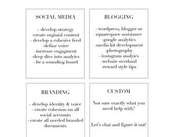 Styling, Blogging, Branding & Social Media