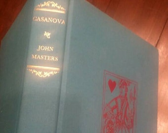 Vintage Casanova John Master Book Color Plate  Stunning Over 100 Illustrations Copyright 1969 Free Ship In USA