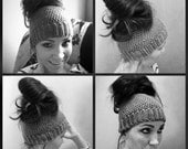 Custom Order Ponytail Headband Hat