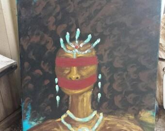 Muted Glory Acrylic Painting Art