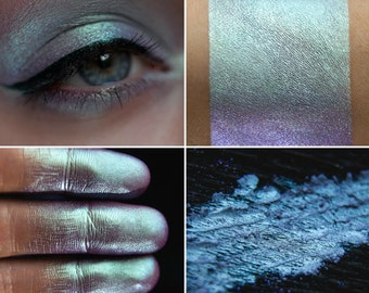 Eyeshadow: Timid - Fairy. Lilac prismatic eyeshadow by SIGIL inspired.
