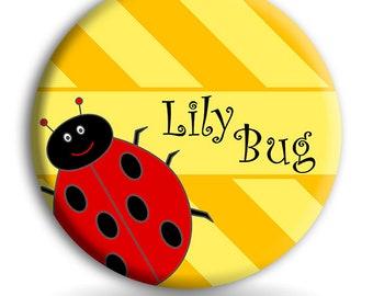 Lady bug Kids PLATE,  Melamine Plate, Kids Dinnerware Set, Baby Dishes, Lady Bug Dish Set, Childrens Tableware, Ladybug Dishes