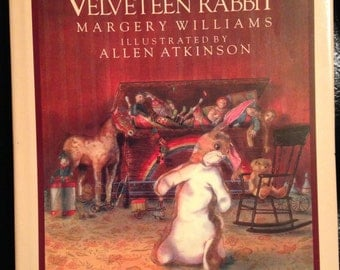 1983 Velveteen Rabbit Book and Collectible Calendar