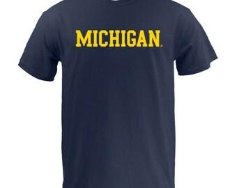 Michigan Wolverines Basic Block T-Shirt