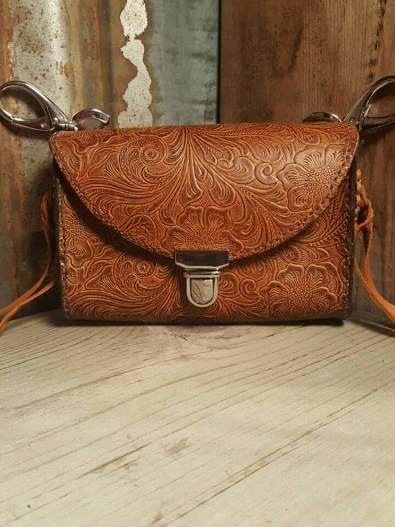 Small Embossed Adventure Bag