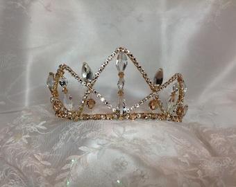 Aurora. Sugarplum Fairy. Dewdrop Fairy. Raymonda. Grand Pas Classique. La Bayadere. Crystal and light Colorado topaz  tiara. Ready to ship.