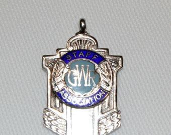 Sterling Silver & Enamel Medal (B:1946)