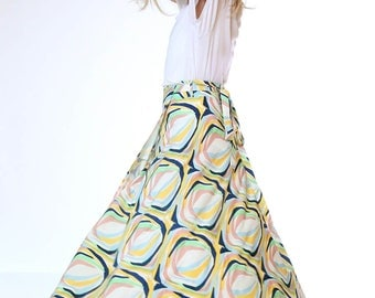Stained Glass Wrap Skirt