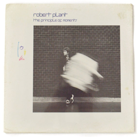 Vintage 80s Robert Plant The Principle of Moments Sealed Album Record Vinyl LP
