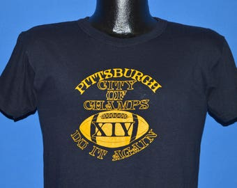 80s Pittsburgh Steelers Super Bowl XIV t-shirt Small