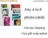 25% OFF Blank Cards Set, Assorted Greeting Cards for Birthday, Thank You, Nature Note Cards, Handmade Original Photography Cards