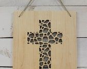 Because He First Loved Us Cross Wall Hanging